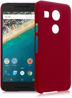 Case Creation Back Cover for LG Google Nexus 5X H791, Nexus5X(Maroon Wine Red, Plastic) Flipkart