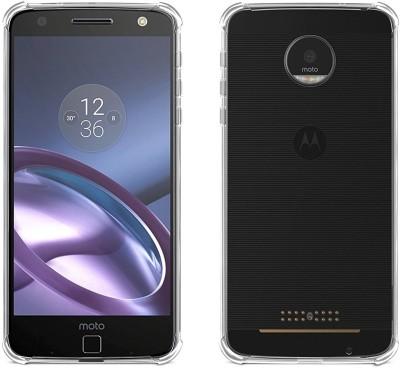 Bracevor Back Cover for Motorola Moto Z Play Transparent, Shock Proof, Silicon  Bracevor Plain Cases   Covers