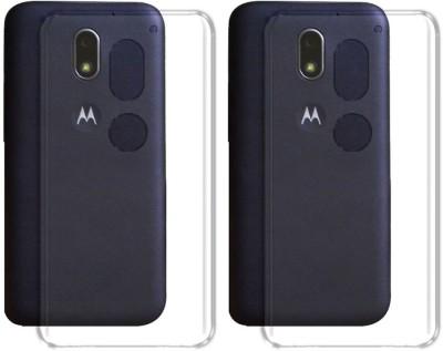 Deltakart Back Cover for Motorola Moto E3 Power(Transparent, Silicon)