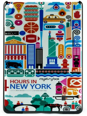 Mystry Box Back Cover for Apple iPad 5 / iPad Air 5th Gen (9.7 inch)(Hours In Nyc Multicolor)