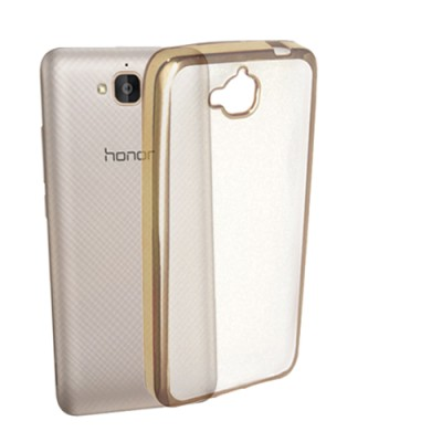 Noise Back Cover for Honor Holly 2 Plus(Gold, Plastic)