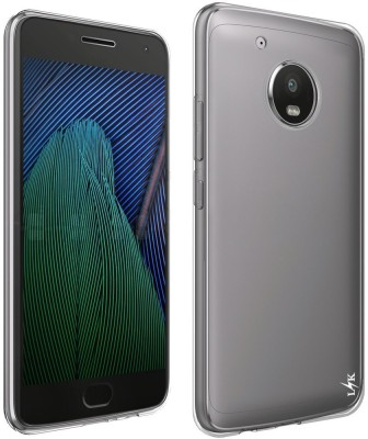 Karimobz Back Cover for Motorola Moto G5 Plus Transparent