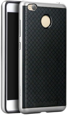 Ipaky Back Case Back Cover for Mi Redmi 3S Silver