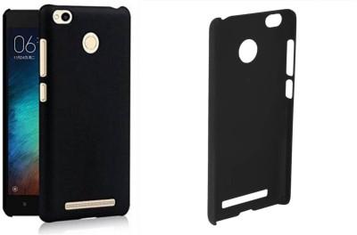 Mozette Back Cover for Mi Redmi 3S Prime Black