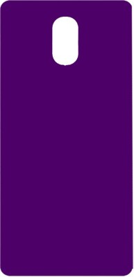 Top Grade Back Cover for Motorola Moto E3 Power(Purple, Plastic)