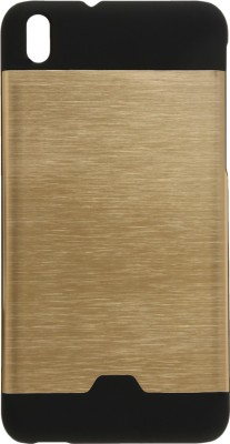GadgetM Back Cover for HTC Desire 816G(Golden, Metal, Rubber)
