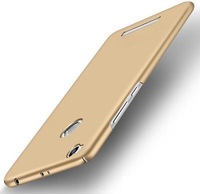 Wow Imagine Back Cover for Mi Redmi 3S Prime Gold Wow Imagine Plain Cases   Covers
