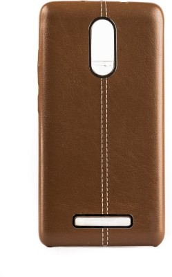 Mystry Box Back Cover for Mi Redmi Note 3 Gold Mystry Box Plain Cases   Covers