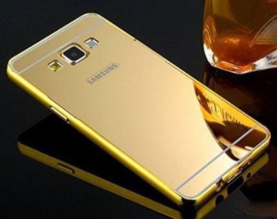 Neuspeed Bumper Case for Luxury Mirror back case with side bumper for Samsung Galaxy E7(GOLD, Metal) Flipkart