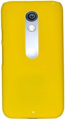 GadgetM Back Cover for Motorola Moto X Play Yellow