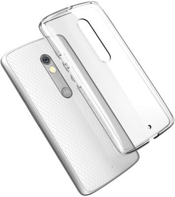 RayKay Back Cover for Motorola Moto X Play Transparent, Silicon