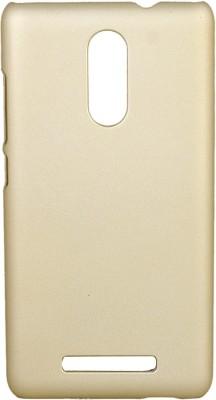 GadgetM Back Cover for Mi Redmi Note 3 Gold