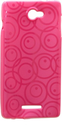 Gizmofreaks Back Cover for Panasonic P55 (Pink)