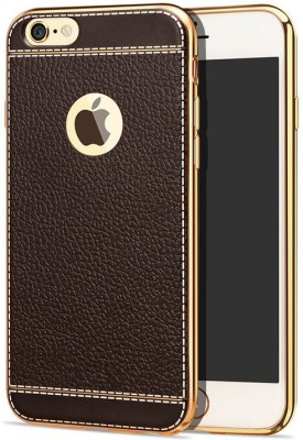 Excelsior Back Cover for Apple iPhone 7, Apple iPhone 8 Brown Excelsior Plain Cases   Covers