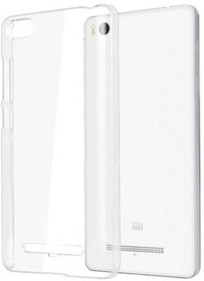 Fastway Back Cover for Mi Redmi 3S Prime(Transparent)