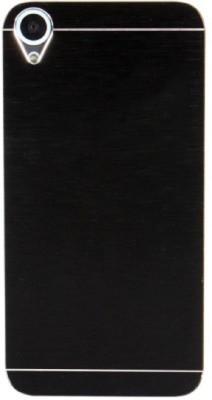 Motomo Back Cover for HTC Desire 820(Metalic Black, Metal, Plastic) Flipkart