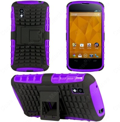 Heartly Back Cover for LG Optimus G E975 LS970(Purple)