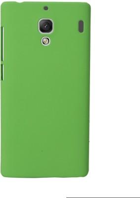 Coverage Back Cover for Mi Redmi 1S Green Coverage Plain Cases   Covers