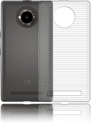 Deltakart Back Cover for Yu Yuphoria(Transparent, Silicon)