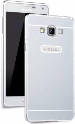 TRUE Back Cover for Metal Bumper Plus+Acrylic Mirror Back Cover For Samsung Galaxy J710 Silver(TRUE SILVER, Metal)