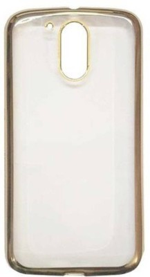 Top Grade Back Cover for Motorola Moto E3 Power(Black, Rubber)