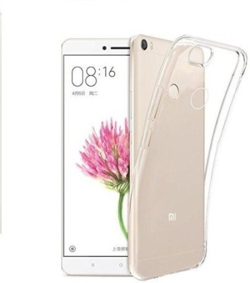 COVERNEW Back Cover for Mi Max Transparent COVERNEW Plain Cases   Covers