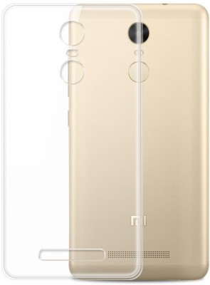 Heirloom Quality Back Cover for Redmi Note 4 - Transparent and Superior Quality(Transparent, Silicon)