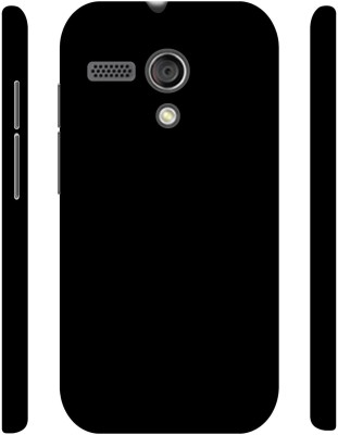Casotec Back Cover for Motorola Moto G 1st Generation Black