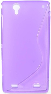 S-Line Back Cover for Sony Xperia T2 Ultra Dual(Purple, Silicon) Flipkart