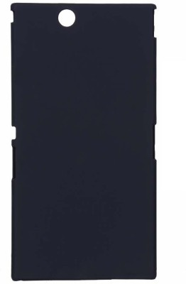 GadgetM Back Cover for Sony Xperia Z Ultra(Black, Plastic)