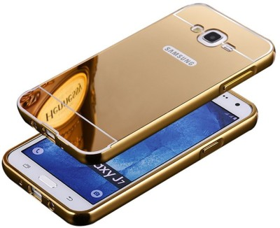 NEW BREED Back Cover for SAMSUNG Galaxy S5(Gold, Metal, Plastic)