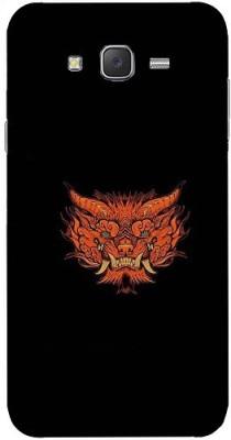 Casotec Back Cover for Samsung Galaxy J7   2015 Multicolor