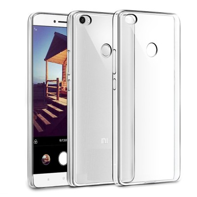 Cover Alive Back Cover for Mi Max Transparent