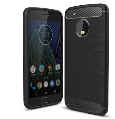 Faircost Back Cover for Motorola Moto G5 Plus Black, Silicon