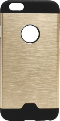 GadgetM Back Cover for Apple iPhone 6S(Golden, Metal, Rubber) Flipkart