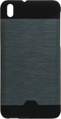 GadgetM Back Cover for HTC Desire 816G(Navy Blue, Metal, Rubber)
