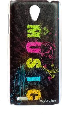 Mystry Box Back Cover for Lenovo S650 Multicolor Mystry Box Plain Cases   Covers