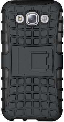 DMG Back Cover for SAMSUNG Galaxy E7(Black, Plastic)