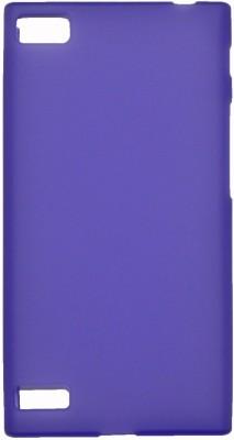 FCS Back Cover for Blackberry Z3(Purple, Rubber)