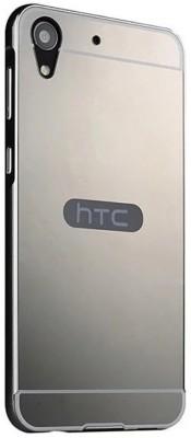 GadgetM Back Cover for HTC Desire 728(Black, Metal, Plastic)