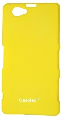 Casotec Back Cover for Sony Xperia Z1 Mini Compact(Yellow)