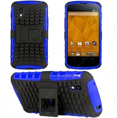 Heartly Back Cover for LG Optimus G E975 LS970(Blue)