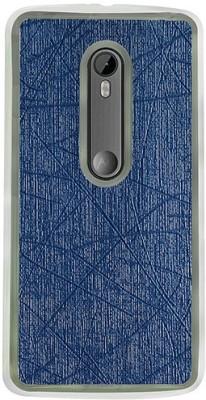 Casotec Back Cover for Motorola Moto G (3rd Generation)(Dark Blue, Flexible Case) Flipkart