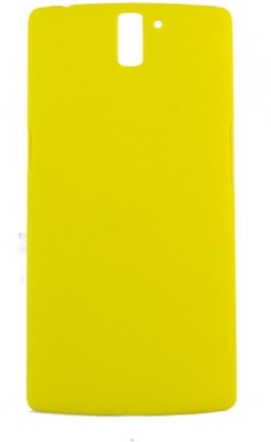Coverage Back Cover for OnePlus One Yellow