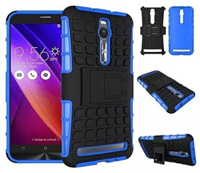 Micomy Back Cover for Asus Zenfone 2 Blue   Black