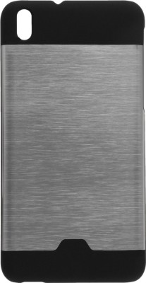 GadgetM Back Cover for HTC Desire 816G(Silver, Metal, Rubber)