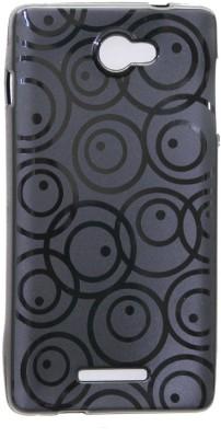 Gizmofreaks Back Cover for Panasonic P55 (Black)