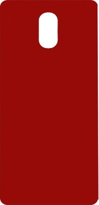 Top Grade Back Cover for Motorola Moto E3 Power(Red, Plastic)