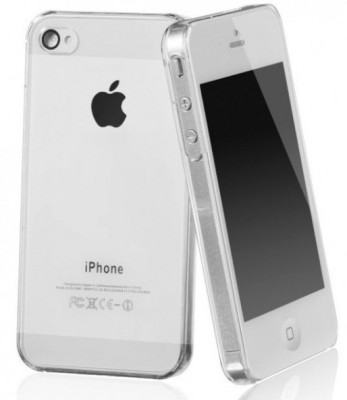 Case Creation Back Cover for Iphone 4, Apple iPhone 4S, Apple Iphone 4G(Transparent, Silicon)