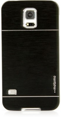 Motomo Back Cover for SAMSUNG Galaxy S5(Black, Metal, Plastic) Flipkart